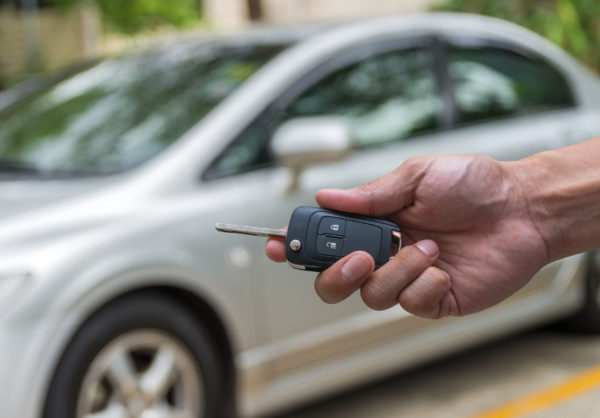 Keys to a used car
